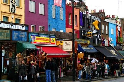 Camden Town Is Considered One Of The Major Centres Of Alternative Culture  In Europe And Is Known For Its Bizarre Fashion Collections, Including  Vintage, ...